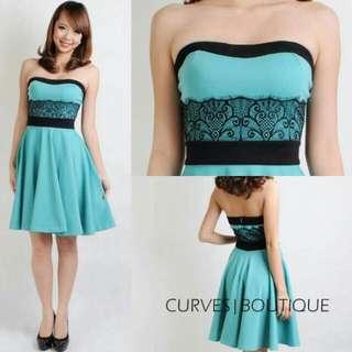 Tiffany Tube Flare Dress