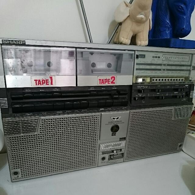 30年 Sharp 古董收音機