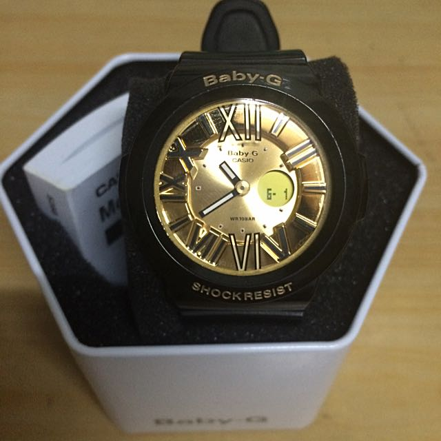 Baby-G黑金手錶