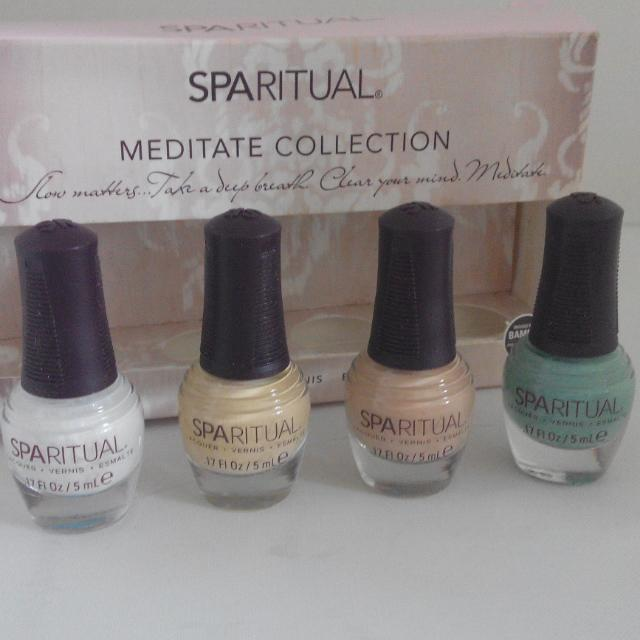 Sparitual Nail Vernis Lacquer Bamboo Mediate Collection Brand New In ...