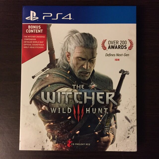 The Witcher 3 [PS4]