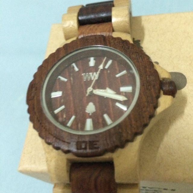 Wewood手錶Date Beige/brown