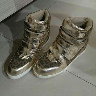 🚚 豹紋款 內增高鞋