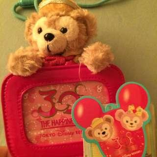 迪士尼Duffy票卡夾