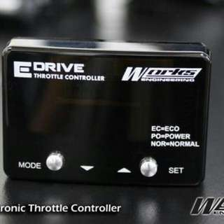 WORKS ENGINEERING USA 16 Step E-Drive Throttle Controller
