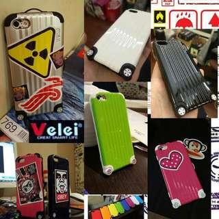 {送保護貼}行李箱iPhone4/4s iPhone5/5s旅行箱手機殼DIY貼紙手機殼 note3