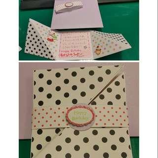 手工卡片 - 生日卡