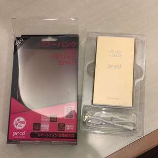 全新 Enco 7000 Series Cisco超薄超輕時尚淺金色香檳金3800 mAh 行動電源