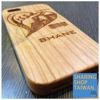 iPhone 5/5s 客制化全木質手機殼