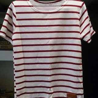 (保留)紅白條紋上衣