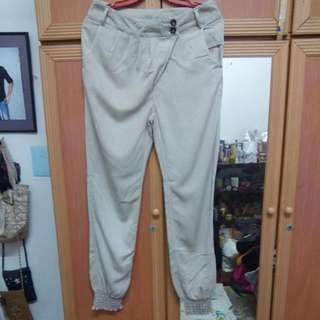 High Waisted Khaki Pants
