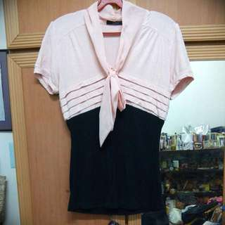 NICOLE Top With Bow