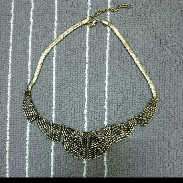🆓古銅歐美時尚項鍊