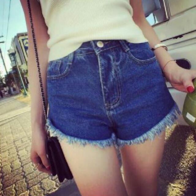 ✨全新 顯瘦牛仔短褲