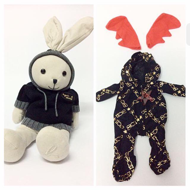 [agnes b. cafe]小兔玩偶