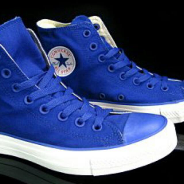 (保留)All star 全藍 寶藍 膠囊鞋