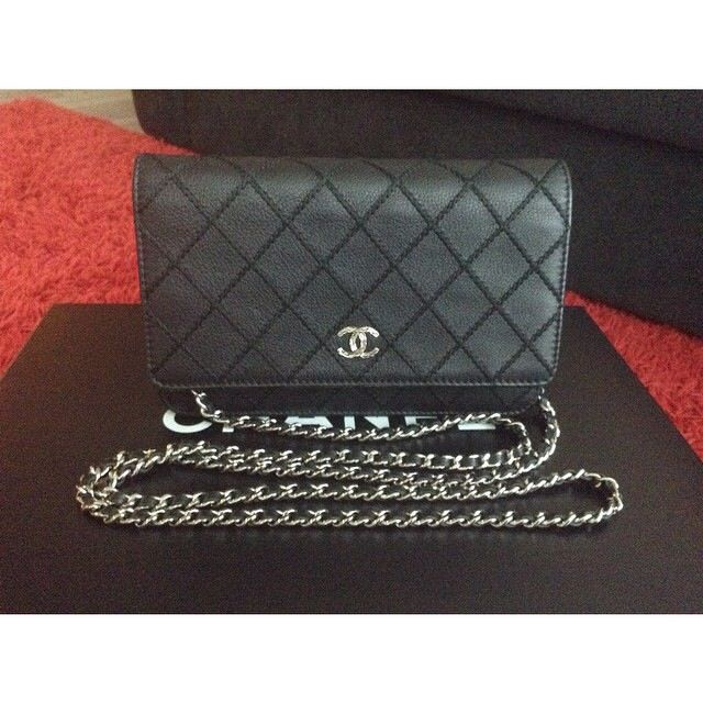 💯%Authentic Preloved Chanel WOC 3505d1a38931