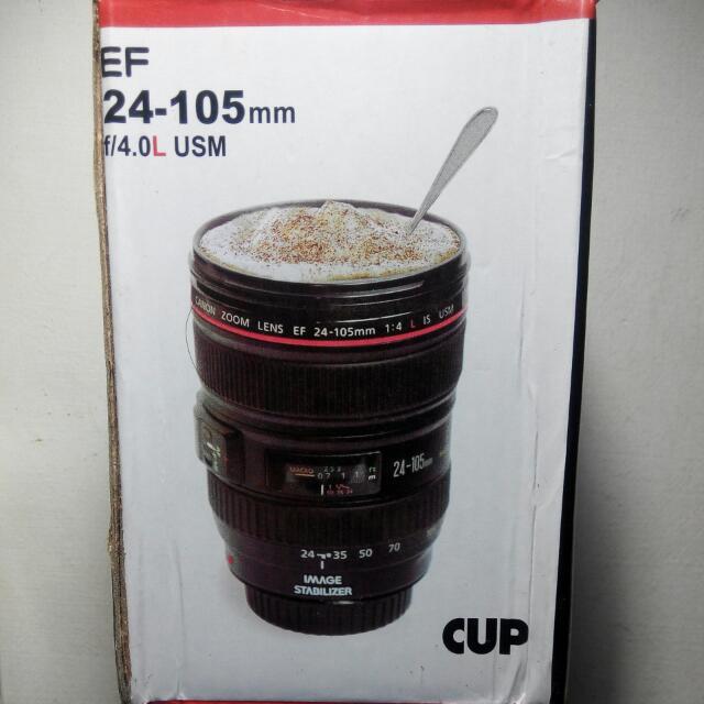 Canon鏡頭造型咖啡杯