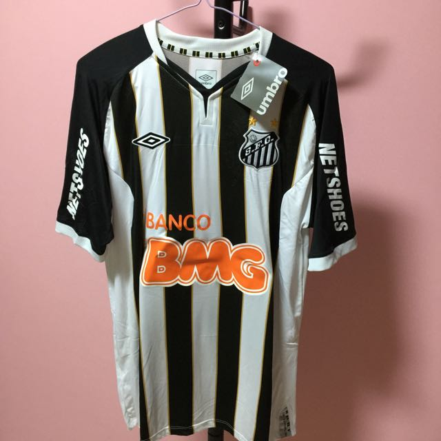 huge selection of 2b853 be7ea Offical Santos Jersey With Customised Printing Neymar Jr #11 ...