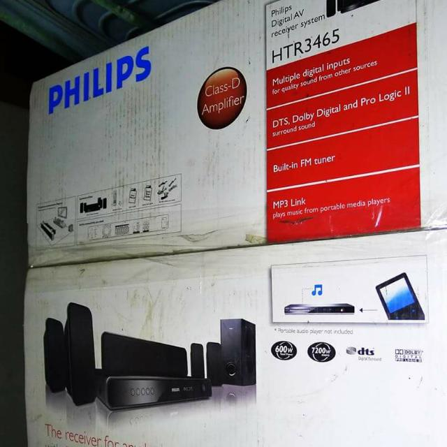 Pre-Loved Philips Digital AV Receiver System (with Box) - Home Theater/Speakers