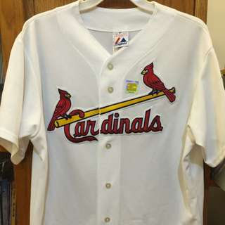 MLB 2006 聖路易紅雀隊球衣(L)(全新正品)