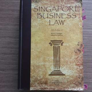 Singapore Business Law 5th Edition( Benny S Tabulajan, Valerie Fu Toit-Low