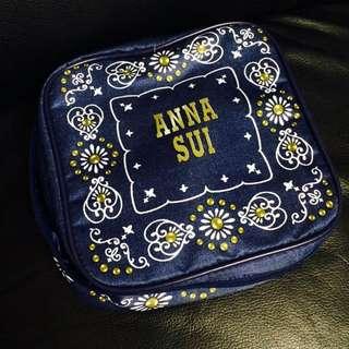 Anna Sui 全新 抽繩 化妝包