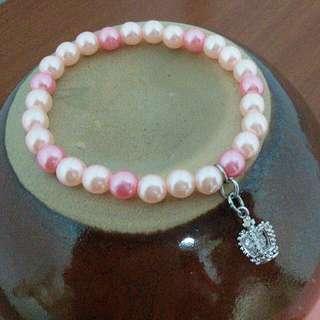 👑皇冠珍珠手鍊