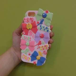 Iphone5/5s 美少女戰士蝴蝶結手機殼