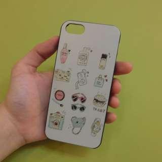 全新 Iphone5/5s 飾品圖案手機殼