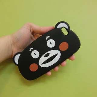 Iphone5/5s 萌熊手機殼