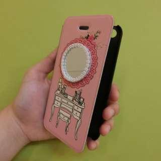 Iphone5/5s 鏡子梳妝台手機殼