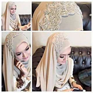 Shawl/veil For Bride To Be