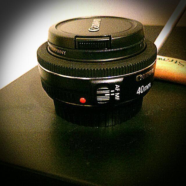餅乾鏡40mmf2.8