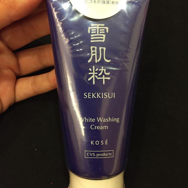 雪肌精洗面乳(日本購入)