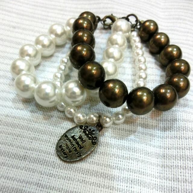 ::珍珠復古手環