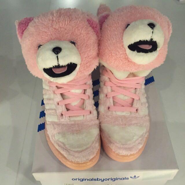 全新 Adidas 粉紅熊 運動鞋 23.5 sports