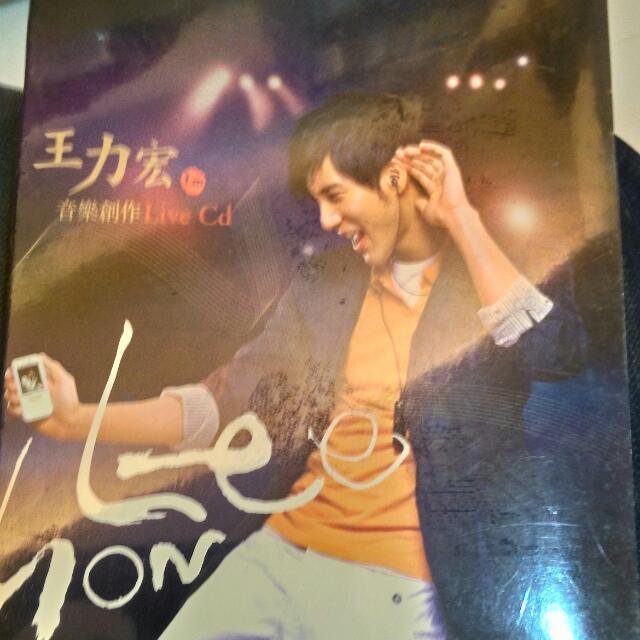 王力宏全新音樂創作LiveCD
