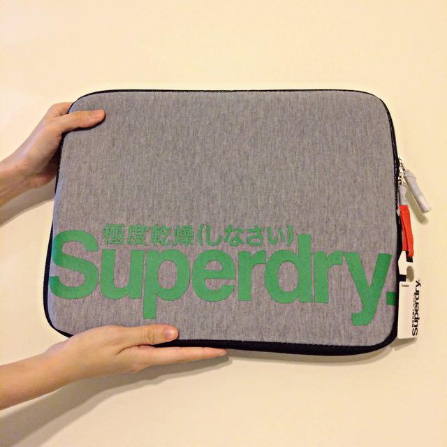 全新正品Superdry極度乾燥電腦包