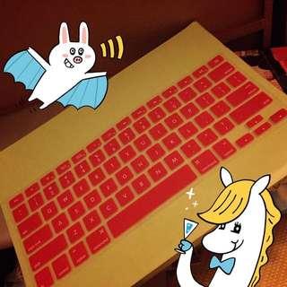 🉐Apple Mac 蘋果筆電鍵盤膜(Mac Air/Mac Pro都適用)