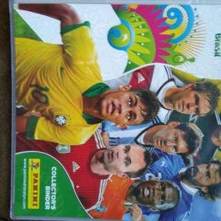 FIFA WORLD CUP 2014 Adrenalin Soccer Cards Starter Pack