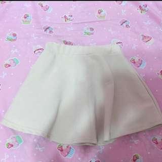 米色小圓裙