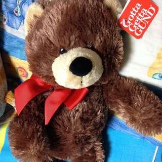 美國GUND黑巧克力熊