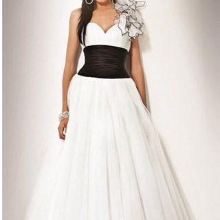 Classy Long White Tailor Made Evening Prom Dress From Marieprom