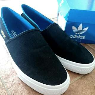 Adidas Adidrill Vulc Black Slip On