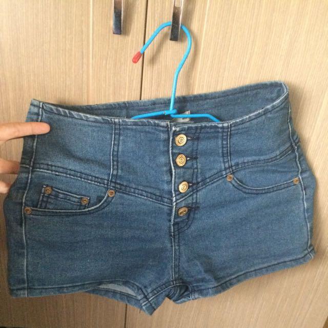 二手 高腰短褲 (s-m)