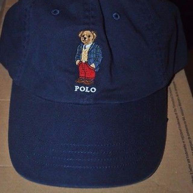🍄 Polo Bear Cap 帽子
