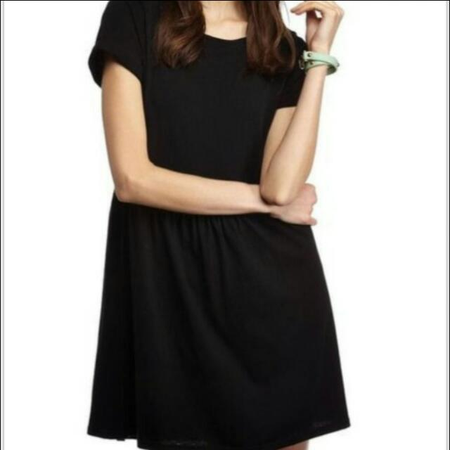 PRICE REDUCED!!!!! Cotton On Black Shirt Dress ( shift dress)