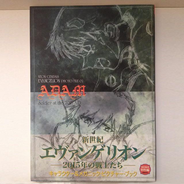 Neon Genesis Evangelion Photo File 02 Adam artbook + End of Evangelion CD Single bundle