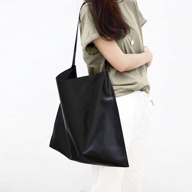 [PO] Chic tote bag (black)